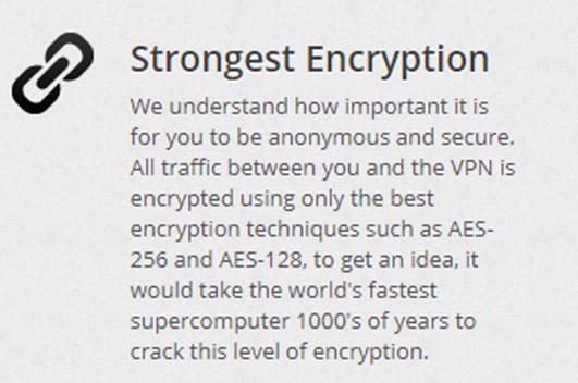 Strongest Encryption