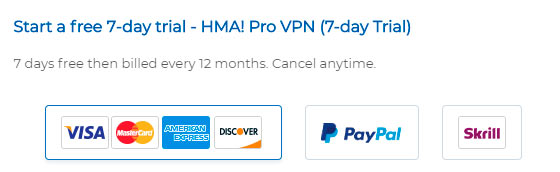 Free VPN trial: no credit card required, no restriction imposed